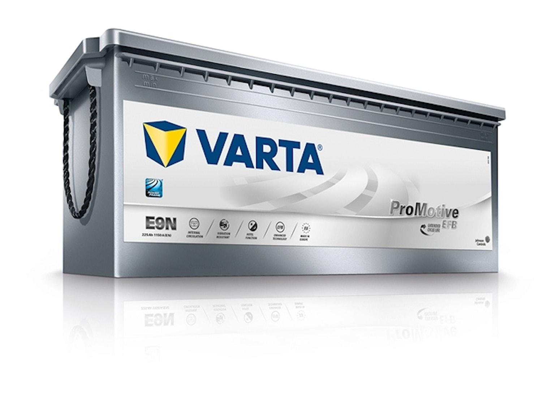 Batteri E9N PRO EFB 225