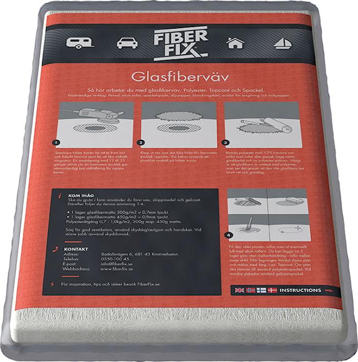 Glasfiberväv 200gr 5meter