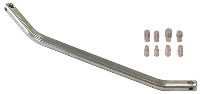 Vinkelnyckel med 8 bits