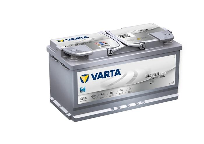 Batteri G14 Silver Dynamic AGM