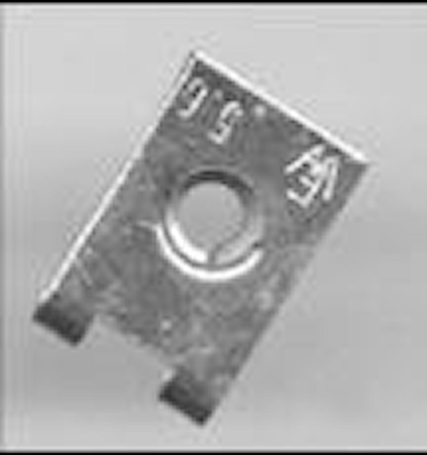 Plåtmutter 5,6 mm
