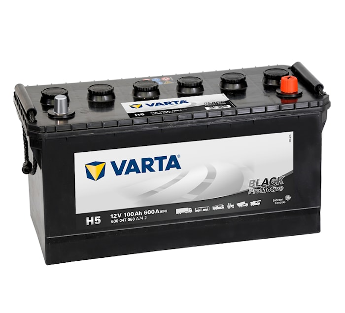 Batteri H5 PRO black HD100