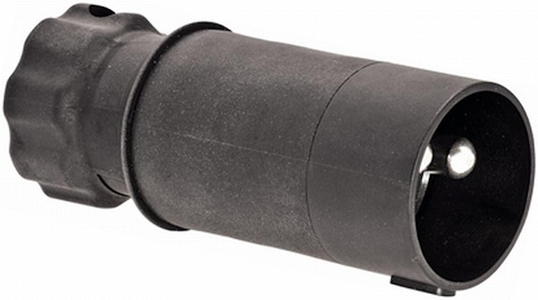 Stickpropp 2-polig m kontaktst