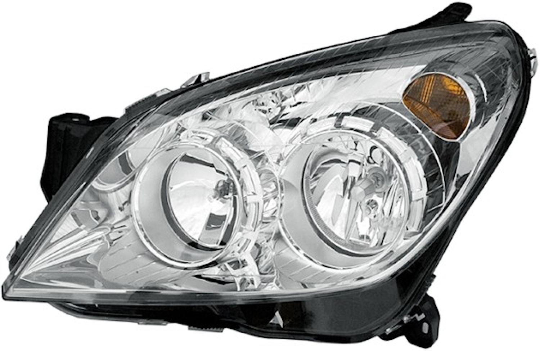 Strålk hö H1/H7 Opel Astra 07-