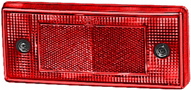 Reflex röd 196x88mm