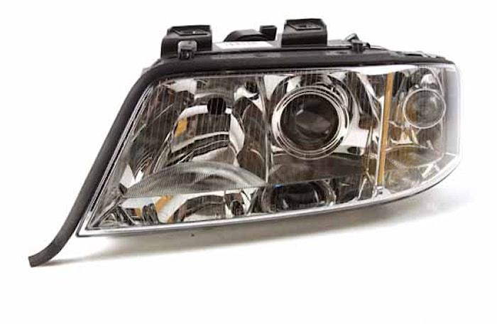 Strålk vä H7/H1 Audi A6