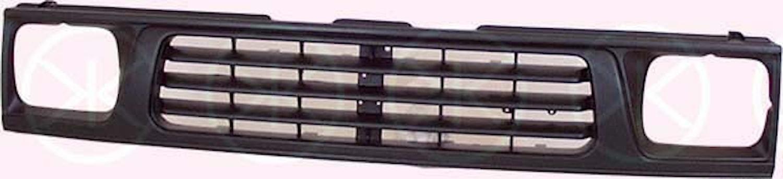 Kylargrill svart 93-