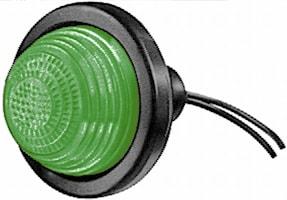 Pos.lykta grön 63.5mm Ø f inb