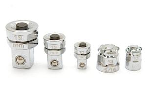 Adapterset nycklar 5 delar
