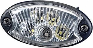 Spotlight 24V G-LED 90x45mm