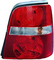 Baklykta hö vit/röd VW Touran
