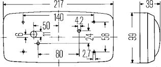 Innerbelysn 217x66mm u strömbr