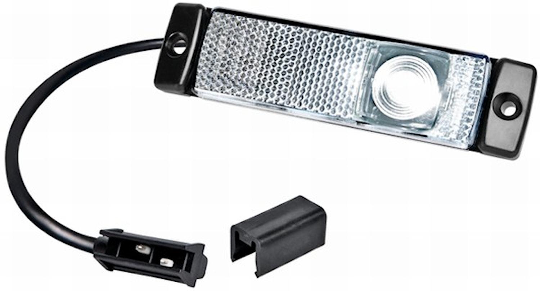Pos.lykta 24V LED med reflex