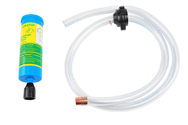 Bränslepump för plastdunk