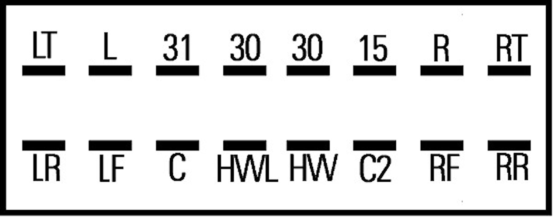 Blinkrelä 24V 16-ansl 2+1+1x21