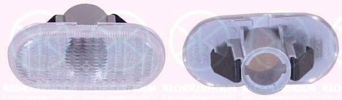 Blinklykta, sidoinstallation