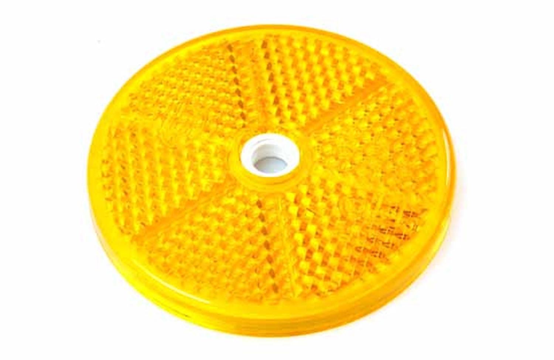 Reflex gul 60mm Ø