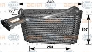 Förångare AC Audi