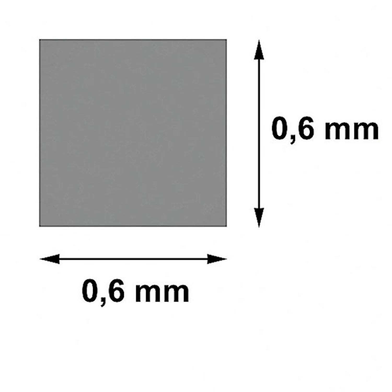 Skärtråd 4-kantstråd 0,6x06mm