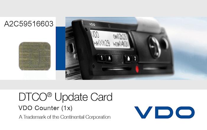 VDO Counter Uppdat kort 10 st