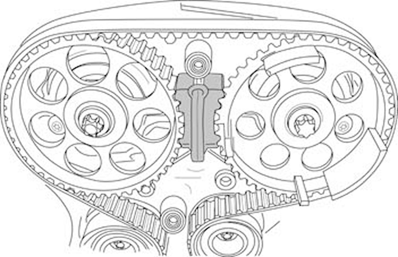 Låsverktygssats Ford/Honda/Lan