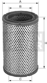 Ventilatorfilter TF