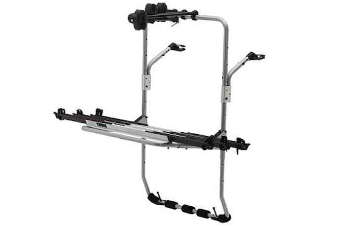 Cykelhållare Backpac Silver