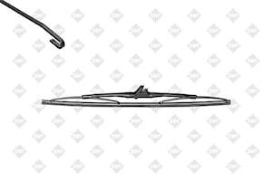 Torkarblad 340mm