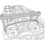 Låsverktygssats BMW N51-> N55