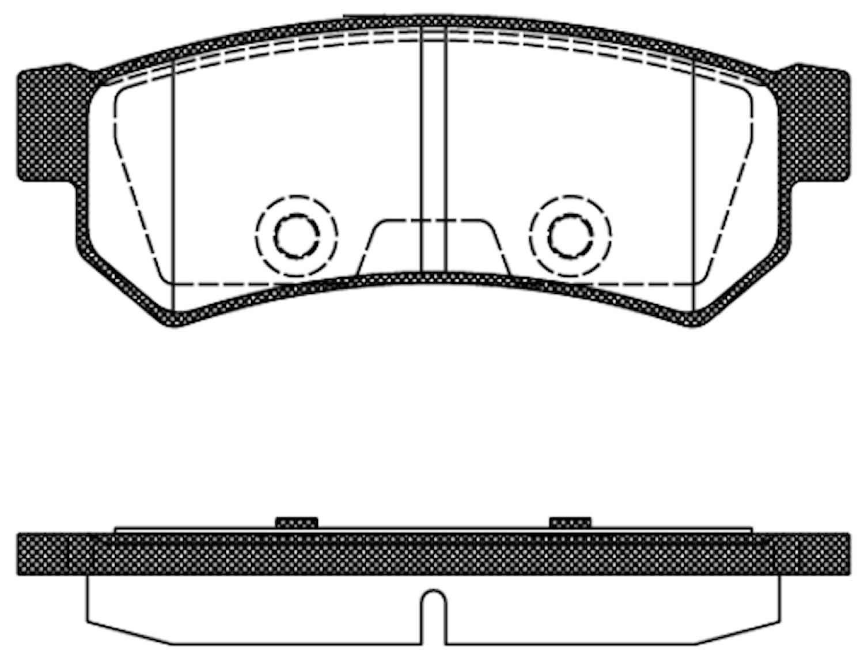Belägg HP T2098