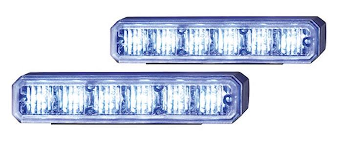 Blixtlyktsats BST LED blå