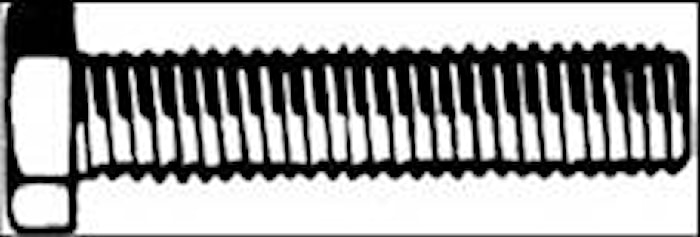 Sexkantskruv M6S-H 6x40 fzb