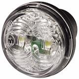 Pos.lykta 12V LED vit 35mm Ø