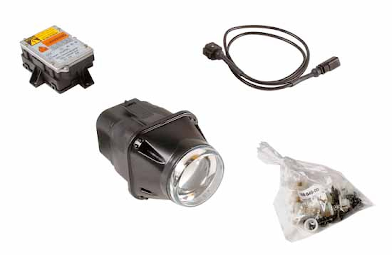 Hel-/halvljusstrålk 24V Xenon