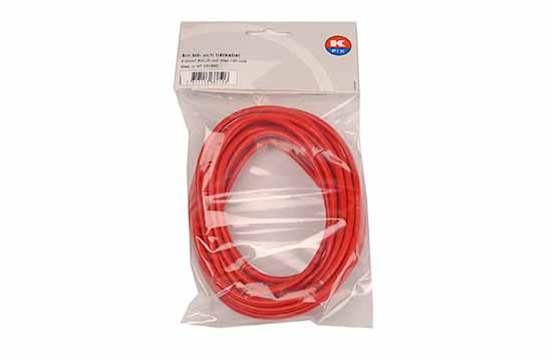 Kabel RKUB 6.0 röd, 5m/förp.