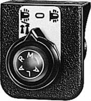 Drag-/vridströmbr 24V 4-läges