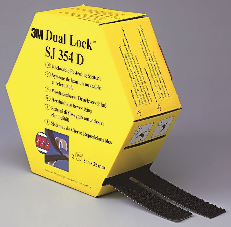 Kardborretejp Dual  Lock 2x5m