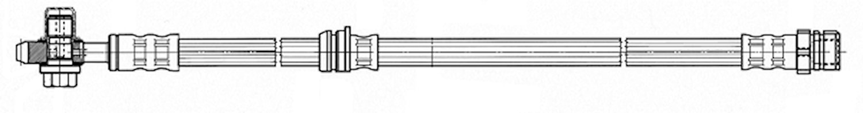 Bromsslang m. banjobult