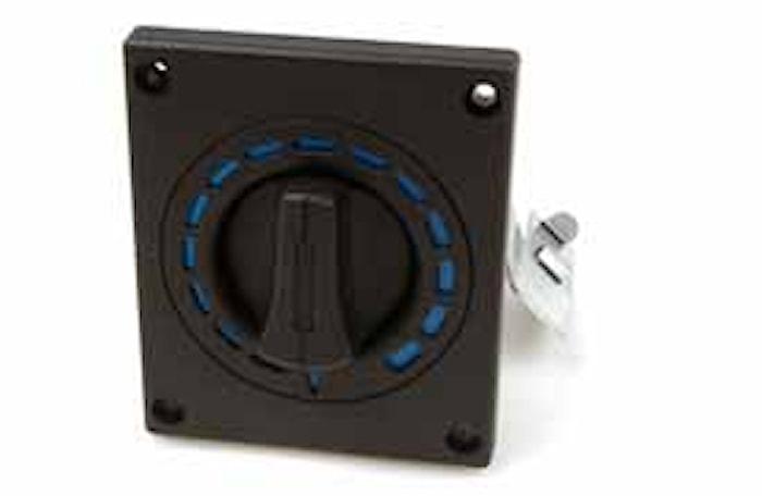 Reglagepanel ventilation (blå)