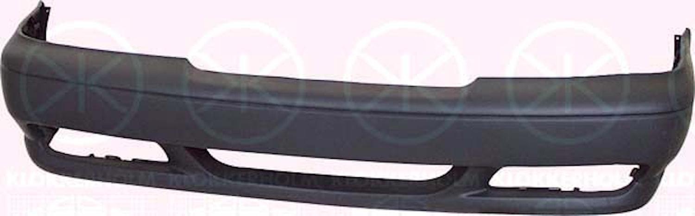 Stötfångare fram svart m/hål