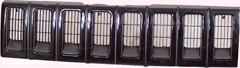 Kylargrill grundlack/svart -95