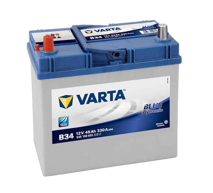 Batteri B34 Blue Dynamic