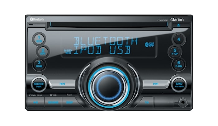 Bilstereo 2-din/cd/mp3/USB/BT
