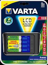 Batteriladdare LCD Ultra Fast
