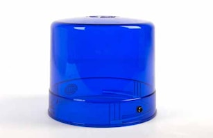 Lykthuv blå f varn.fyr KL800