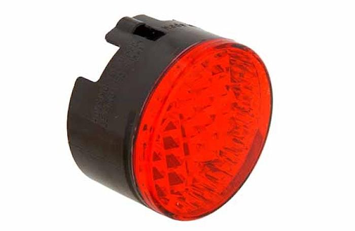Reflex röd 66mm Ø