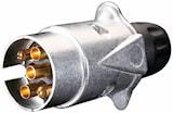 Stickpropp 5-polig metall