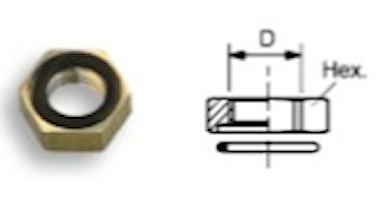 Kontringsmutter med O-ring