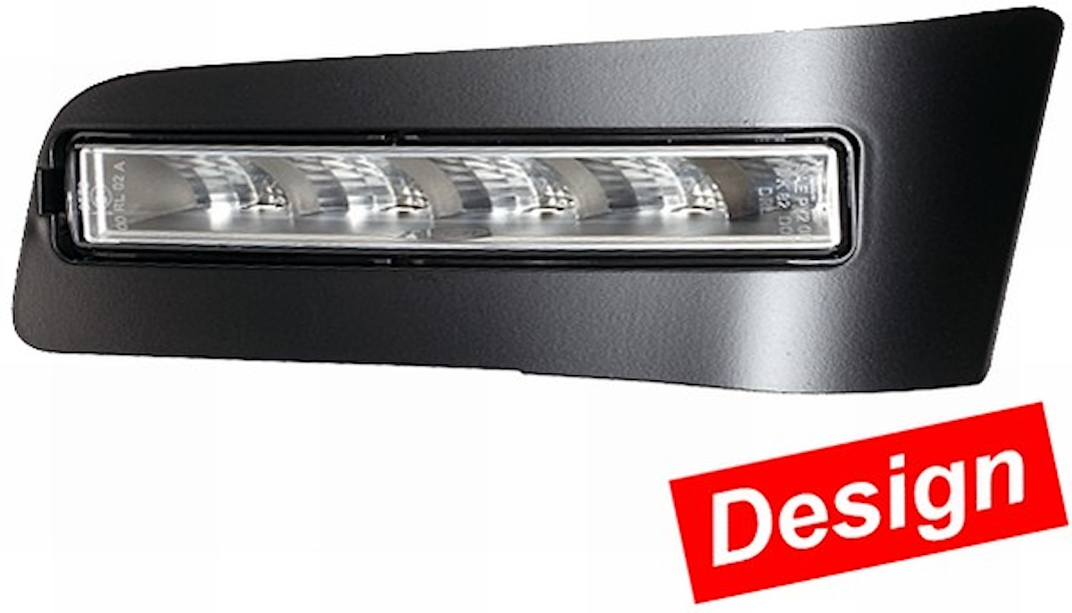 Varselljussats LED 12V vit