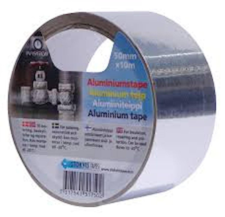 Aluminiumtejp. 50mmx10m